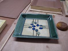Dropped Platters Last month, we sawthis article in Ceramic Arts Daily about making pottery using dropped slabs. We had done this sort of thing on a smaller scale (with shorter drops), but we wante…