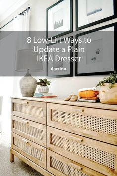 Most of these IKEA dresser hack only require a can of paint and some new knobs—you've got this. Ikea Hacks, Ikea Hack Kids, Ikea Dresser Makeover, Furniture Makeover, Diy Furniture, Painted Furniture, Built In Dresser, Dining Room Hutch, Kids Dressers