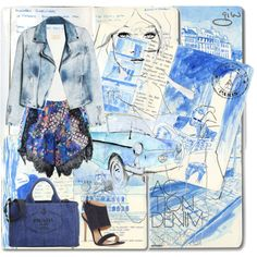 How To Wear sketches... Outfit Idea 2017 - Fashion Trends Ready To Wear For Plus Size, Curvy Women Over 20, 30, 40, 50