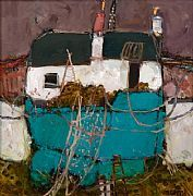 Fisherman's House Coll by David Smith part of our Scotsmen exhibition in Long Melford gallery from 9.2.13 www.limetreegallery.com