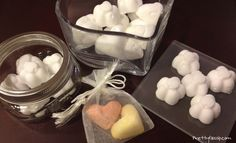 MUST TRY! Homemade Deodorizer Tablets! Perfect for spring cleaning and as a housewarming gift!
