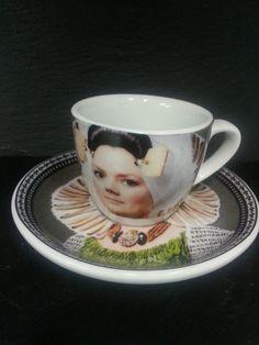 Zeeuws espressokopje (Zeeland espresso cup) !!   Niet echt mooi, maar wel geinig