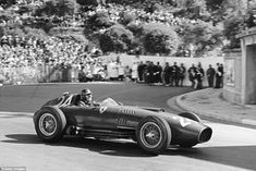 Britain's first world champion Mike Hawthorn enjoys the Monaco delights as he tackles the ...