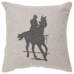 Cheval Pillow//
