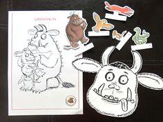 Free Printable The Gruffalo activities