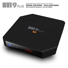 iNepo Android Smart Box M9 Plus TV Box Amlogic S905 2GB 16GB with Kodi and Dual WiFi 2.4GHz 5GHz Bluetooth 4.0 Support HDMI 2.0 4k2k 60fps LED display Streaming Media Player (Black) - http://tvboxproducts.com/android-tv-boxes/inepo-android-smart-box-m9-plus-tv-box-amlogic-s905-2gb-16gb-with-kodi-and-dual-wifi-2-4ghz-5ghz-bluetooth-4-0-support-hdmi-2-0-4k2k-60fps-led-display-streaming-media-player-black/