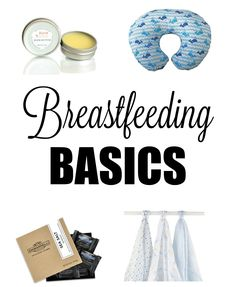 Basic breastfeeding products essential for any nursing mama featuring Boob Butter - a lanolin free nipple cream that really works! Click through to enter to win a can and try it yourself!
