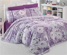 Zobrazit detail produktu Povlečení Lucia lila Comforters, Blanket, Detail, Bed, Stream Bed, Rug, Blankets, Beds, Cover