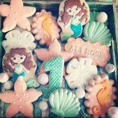 Magical Under the Sea Cookies  | CatchMyParty.com