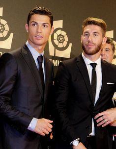 Cristiano Ronaldo and Sergio Ramos.