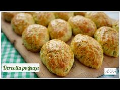 So yummy! No yeast! Dill pastry in 10 minutes/ Figen Ararat - YouTube Turkish Recipes, Ethnic Recipes, Baked Potato, Potatoes, Baking, Youtube, Food Ideas, Bakken, Bread