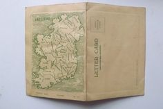 Vintage Irish Letter Card - Shamrock/Tara Insert - Unposted | eBay