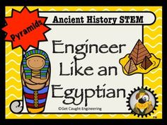 Looking for a way to integrate STEM into your ancient cultures lesson? Engineer like an Egyptian! will provide an enrichment experience for your students that combines geometry, architecture, and structural engineering. This lesson will challenge your students collaborative and problem solving skills in a fun and interesting hands- on activity.