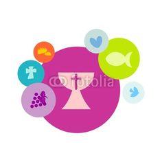 MI PRIMERA COMUNION de queidea, vector libre de derechos #41538981 en Fotolia.com