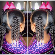 Black Little Girls Hairstyles Little Black Girl Hairstyles  Pinterest  Kid Hairstyles Black