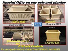Sandstone Pots, Planters, Birdbaths and Garden Bench for Sale | Pots & Garden Beds | Gumtree Australia Wanneroo Area - Landsdale | 1087070513