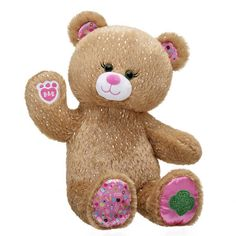 Trefoil Girl Scout Teddy Bear | Shop Now at Build-A-Bear® Girl Scout Junior Vest, Girl Scout Brownie Uniform, Teddy Bear Shop, Cute Teddy Bears, Girl Scout Trefoil, Panda Party, Build A Bear, Paw Pad, Shortbread