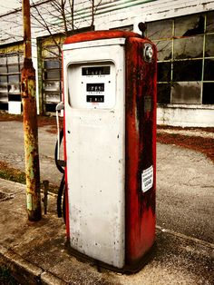 Old Gas Station Gas Tank Picture Petrol Photo by RuthandIdgies