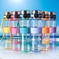 Material: PP plastic Capacity:350ml,450ml,600ML,1000ml Color:multicolor Package Includes:1 X Water B