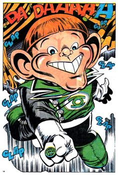 The 'Guy Gardner on Ice' issue of JLA. Awesome in its purest form.