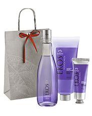 Presente Natura Ekos Pitanga Preta - Desodorante Colônia + Polpa para as Mãos + Sabonete Líquido + Embalagem