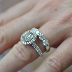 Custom Made Engagement Ring by IDJ