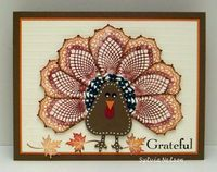 Sylvia's Stamping Corner: WELCOME NOVEMBER...IT'S TURKEY TIME AT THE COLOURQ!