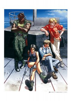 Rei Hiroe, Madhouse, Black Lagoon, Benny, Dutch