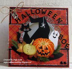 Anja Zom kaartenblog: Halloween......