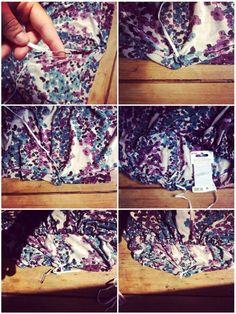 ou comment se coudreune jupe longue rapidement et avec trois fois rien… Couture Sewing, Floral, Beauty, Couture Skirts, Tuto Couture Facile, Beleza, Haute Couture, Florals, Flowers