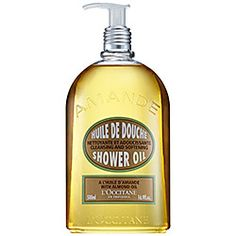 L'Occitane - Cleansing And Softening Shower Oil With Almond Oil   #sephora