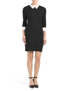 French Collared Sweater Dress - Sweater - T.J.Maxx