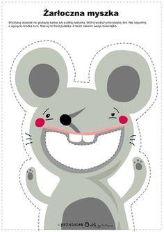 Żarłoczna myszka - Printoteka.pl