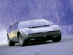 The Alfa Romeo Iguana concept car debuted at the 1969 Turin Motor Show. It was designed by Giugiaro, of Ital...