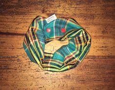 Baby/toddler bib scarf - gender neutral boy/girl single loop infinity scarf, adjustable snaps, green