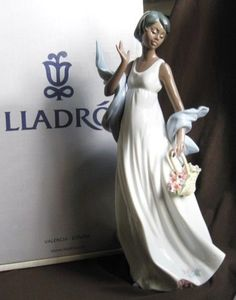 Lladro WINDS OF ROMANCE L6783 great condition with BOX Black Legacy Collection