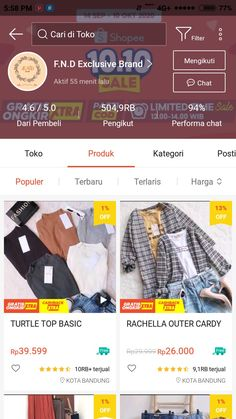 Best Online Clothing Stores, Online Shopping Sites, Online Shopping Clothes, Online Shop Baju, Casual Hijab Outfit, Clothing Hacks, Shops, Hanfu, Look Fashion