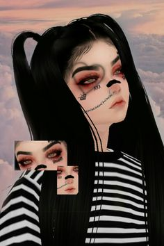 Devil Aesthetic, Blue Aesthetic, Goth Wallpaper, What's My Favorite Color, Grunge, Virtual Girl, Gothic Anime, Innocent Girl, Indie