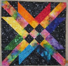 Free Quilt Pattern - The Mexican Star Block by Abby Josias Van Buskirk
