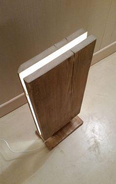 Reclaimed Wood Led Floor Lamp Floor Lamps Wood Lamps