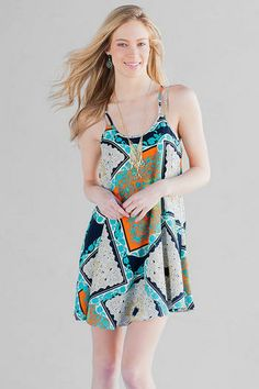 Reata Printed Dress