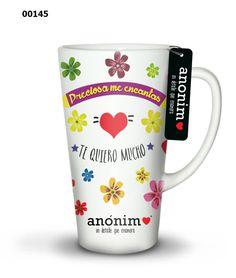 Tazas para regalar www.anoniemoanamo... Tazas para regalar. Diseños originales. Frases con diseño. ¡Un detalle que enamora!