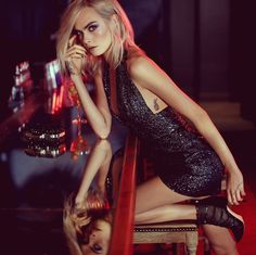 Jimmy Choo's new collection featuring Cara Delevigne 2017