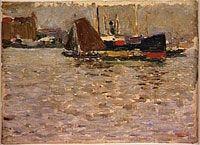 Wassily Kandinsky -- Rotterdam  1904