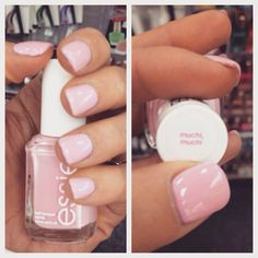 I'll always prefer short nails .. and this colour is adorable