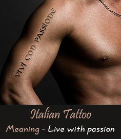 Italian Tattoos for Men tatuajes | Spanish tatuajes |tatuajes para mujeres | tatuajes para hombres | diseños de tatuajes http://amzn.to/28PQlav