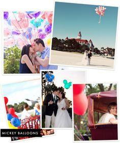 Disney Photo Spot: Mickey Balloons