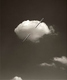 A stitch in time saves cloud 9! Chema Madoz.
