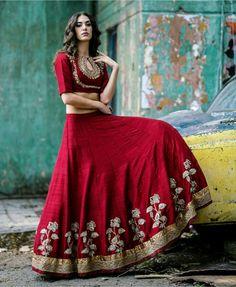 desiindia:  Alicia Kom for Jayanthi Reddy Label