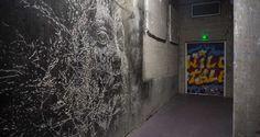 Da Mental Vaporz : Lasco project - Palais de tokyo, Paris - Vhils & Kan DMV